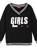 voordelige Damesbroeken en rokken-Dames Klassiek & Tijdloos Sweatshirt - Formele Stijl, Letter