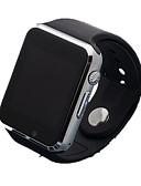 baratos Smartwatches-Relógio inteligente Chamadas com Mão Livre Áudio Bluetooth 2.0 iOS Android No slot Sim Card