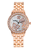 cheap Quartz Watches-Women's Wrist Watch Cool Punk Large Dial Alloy Band Analog Charm Sparkle Vintage Silver / Gold / Rose Gold - Gold Silver Rose Gold