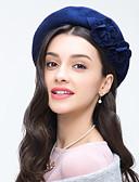 abordables Sombreros de mujer-Mujer Lana Celada-Boda Ocasión especial Casual Sombreros 1 Pieza