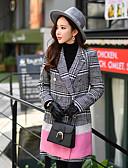 お買い得  コート、トレンチコート-女性用 ワーク ロング キュート モダンシティ ストリートファッション