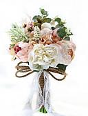 """ieftine Rochii de Seară-Flori de Nuntă Buchete Nuntă Party / Seara Tafta Spandex Flori Uscate Dantelă Ștras Poliester Satin 9.84""""(Approx.25cm)"""