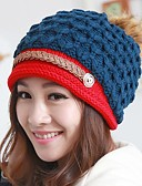 cheap Fashion Hats-Women's Active Beanie / Slouchy - Patchwork