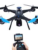 billige Sjaler-RC Drone JJRC X1G 4 Kanaler 6 Akse 5.8G Med 2,0 M HD-kamera Fjernstyrt quadkopter FPV / LED Lys / Feilsikker Fjernstyrt Quadkopter / / CE