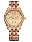 cheap Quartz Watches-Geneva Women's Wrist Watch Cool Alloy Band Charm / Sparkle Silver / Gold / Rose Gold / One Year / SSUO 377