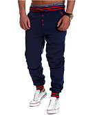 cheap Men's Jackets & Coats-Men's Active Cotton Straight Active Sweatpants Chinos Pants - Solid Colored