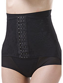 cheap Panties-Women's Shaping Panties Solid Colored High Waist