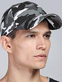 billige Hatter til herrer-Unisex Aktiv Baseballcaps / Militærhatt Leopard