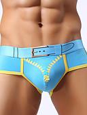 abordables Sous Vêtements Exotiques pour Hommes-Homme Sexy Slips Shorts & Slips Garçon Couleur Pleine 1 Pièce Taille Normale