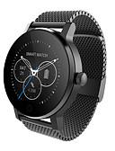 baratos Relógios Masculinos-Homens Relógio Inteligente Digital sensível ao toque Calendário Cronógrafo Impermeável Monitor de Batimento Cardíaco Podômetro Cronômetro