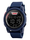 ieftine Ceasuri La Modă-SKMEI Bărbați Piloane de Menținut Carnea Ceas Sport Alarmă / Calendar / Cronograf / Rezistent la Apă / Cool / Iluminat / Cronometru PU