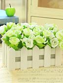 tanie Płaszcz i Trench-Sztuczne Kwiaty 1 Gałąź Styl nowoczesny Roses Bukiety na stół