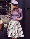 abordables Vestidos de Mujeres-Mujer Festivos / Noche Chic de Calle / Sofisticado Pullover - Un Color, Flor