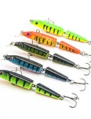 preiswerte Höschen-5 Stück Harte Fischköder kleiner Fisch Angelköder kleiner Fisch Harte Fischköder Fester Kunststoff Seefischerei Köderwerfen Spring