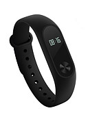 cheap Smart Activity Trackers & Wristbands-Xiaomi Mi band 2 Activity Tracker Smart Bracelet iOS Android Touch Screen Heart Rate Monitor Long Standby Waterproof