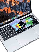 Недорогие Аксессуары для MacBook-xskn® Final Cut Pro X кожа силиконовая клавиатура и сенсорной панели протектор для 2016 года нового Macbook Pro 13,3 / 15,4 с баром