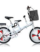 povoljno Haljine za djeveruše-Folding bicikle Biciklizam 3 Brzina 20 inča Dvostruka disk kočnica Vilica s oprugom Monocoque Običan Aluminijska legura / Čelik / Da / #