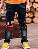 tanie Zestawy ubrań dla chłopców-Dzieci Dla chłopców Kreskówki Solidne kolory Bawełna Jeansy