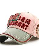 رخيصةأون قبعات نسائية-قبعة البيسبول / قبعة شمسية بقع للجنسين قطن