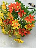 preiswerte Herrenhemden-Künstliche Blumen 1 Ast Moderner Stil Gänseblümchen Tisch-Blumen