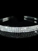 hesapli Kadın Elbiseleri-Yapay Elmas Çiçek  -  Tiaras Headbands Başlık 1pc Düğün Özel Anlar Günlük Başlık