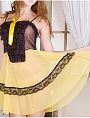 رخيصةأون لانجيري للنساء-لانجري بحزام ملابس نوم للمرأة - ستايل حديث, سادة