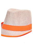 tanie Modne czapki i kapelusze-Dla obu płci Bucket Hat - Len, Patchwork