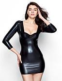 baratos Camisolas e Pijamas Femininos-Mulheres Sexy Super Sensual Roupa de Noite Sólido