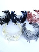 cheap Corsets-Lace / Rhinestone Headbands / Flowers / Headwear with Floral 1pc Wedding / Special Occasion Headpiece