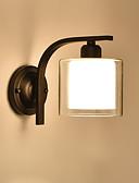 voordelige Bruidsmeisjesjurken-Landelijk / Traditioneel / Klassiek / Retro Wandlampen Metaal Muur licht 110-120V / 220-240V 60W