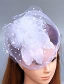 hesapli Parti Başlıkları-Tüy / Net  -  Fascinators / Çiçekler / Şapkalar 1 Düğün / Özel Anlar Başlık