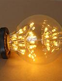povoljno Koža-1pc 3 W LED filament žarulje 200 lm E26 / E27 G95 47 LED zrnca COB Ukrasno zvjezdani Toplo bijelo 85-265 V / RoHs