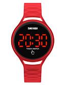 abordables Relojes de Moda-SKMEI Reloj Deportivo Reloj de Pulsera Reloj digital Japonés Digital Silicona Negro / Azul / Rojo 30 m Resistente al Agua Cool Digital damas Moda - Azul Oscuro Amarillo Rojo Dos año Vida de la Batería