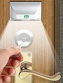 baratos Vestidos de Noite-Ywxlight 3w 4-led keyhole luz da lâmpada pir infravermelho ir detector de movimento sem fio auto sensor (dc 12 v)