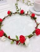 billige Festartikler-skumpennerbånd blomster kranser headpiece klassisk feminin stil