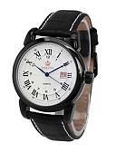 baratos Relógios Militares-Homens Relógio de Pulso Venda imperdível Couro Banda Amuleto / Casual / Fashion Preta / Marrom