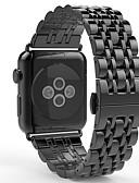 baratos Relógios Militares-Pulseiras de Relógio para Apple Watch Series 3 / 2 / 1 Apple borboleta Buckle Aço Inoxidável Tira de Pulso