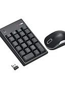 baratos Trench Coats e Casacos Femininos-2.4g wireless mini usb numérico teclado numérico e mouse para laptop desktop notebook - apenas uma porta usb