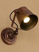 baratos Véus de Noiva-Rústico / Campestre / Tradicional / Clássico Luminárias de parede Metal Luz de parede 110-120V / 220-240V 40W