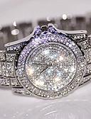 preiswerte Damen Jeansjacken-Damen Quartz Armbanduhr Chinesisch Cool Edelstahl Band Freizeit / Modisch Silber / Gold