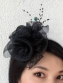 preiswerte Cocktailkleider-Tüll / Netz Fascinatoren / Blumen mit 1 Hochzeit / Besondere Anlässe Kopfschmuck