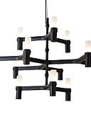 preiswerte Bauchtanzkleidung-Modern / Zeitgenössisch Kronleuchter Raumbeleuchtung - Ministil Designer, 110-120V 220-240V, Wärm Weiß Weiß, Inklusive Glühbirne