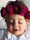 זול ילדים כובעים ומצחיות-אביזרי שיער כל העונות כותנה ניילון יוניסקס - פול אודם ורוד מסמיק פוקסיה יין
