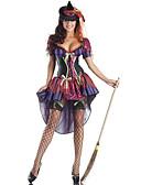 povoljno Maske za mobitele-vještica Cosplay Nošnje Žene Halloween Festival / Praznik Spandex Terilen Crvena Ženska Karneval kostime Other