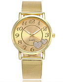 cheap Quartz Watches-Women's Wrist Watch Japanese Casual Watch Alloy Band Charm / Casual / Fashion Silver / Gold / One Year / SSUO LR626