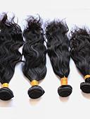 baratos Roupas Íntimas e Meias Masculinas-4 pacotes Cabelo Peruviano Ondulado Natural Cabelo Virgem Cabelo Humano Ondulado 8-28 polegada Tramas de cabelo humano Extensões de cabelo humano