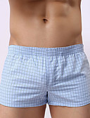 cheap Men's Exotic Underwear-Men's Super Sexy Boxers Underwear Striped