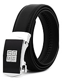 cheap Men's Belt-Men's Work / Belt / Wedding Waist Belt - Solid Colored Fashion