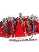 cheap Men's Underwear & Socks-Women's Bags Polyester Evening Bag Pearls Black / Red