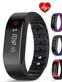 cheap Smart Activity Trackers & Wristbands-Men's Sport Watch / Fashion Watch / Dress Watch Chinese Heart Rate Monitor / Water Resistant / Water Proof / Creative Metal Band Charm Multi-Colored / Pedometers / Smartwatch